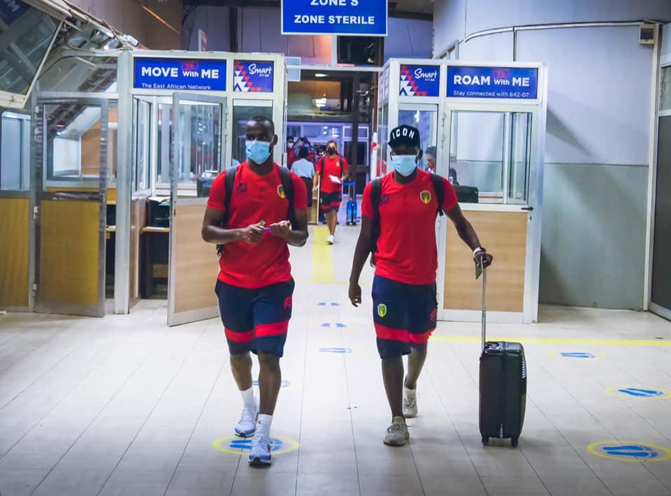 المنتخب الوطني الموريتاني يصل إلى بوجمبورا