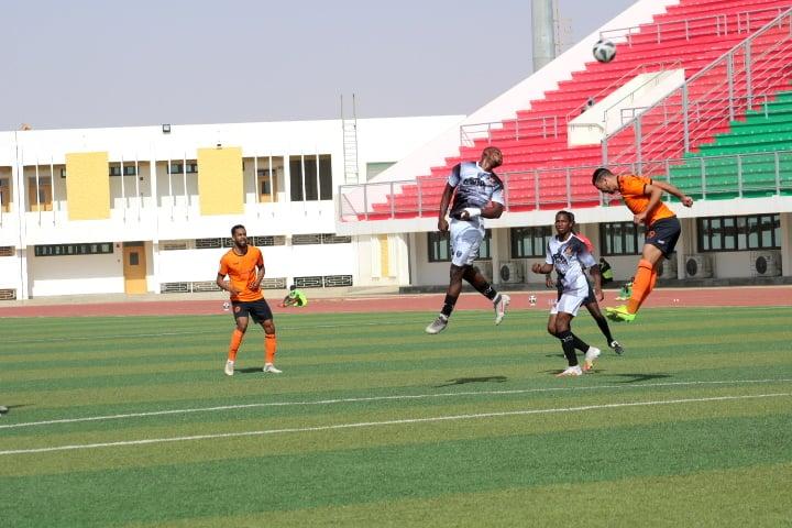 التعادل يحسم مباراة تفرغ زينة و نهضة بركان في نواكشوط