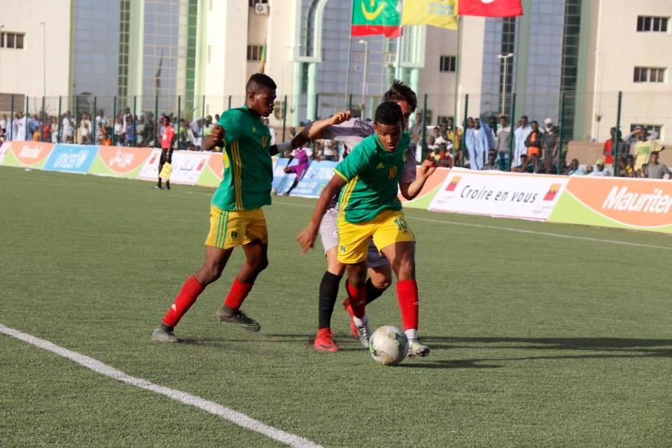 منتخب موريتانيا للشباب تتعادل من تونس