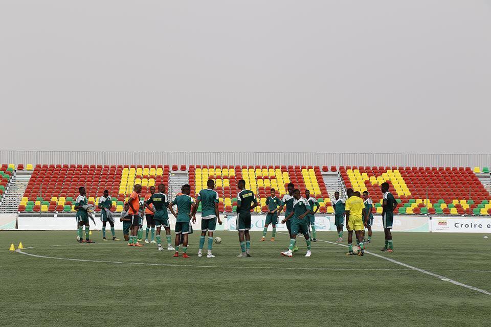 المنتخب الموريتاني للشباب يستعد لمواجهة نيجيريا