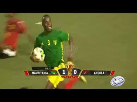 تابع ملخص مباراة المرابطون (موريتانيا VS أنجولا )