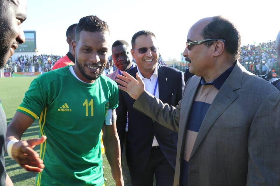 ولد عبد العزيز مع بسام نجم المرابطون