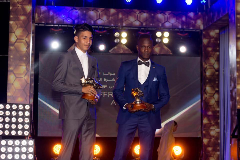 حمي ولد الطنجي وبالاي هدافي الدوري الموريتاني 2018 *صورة من صفحةffrim