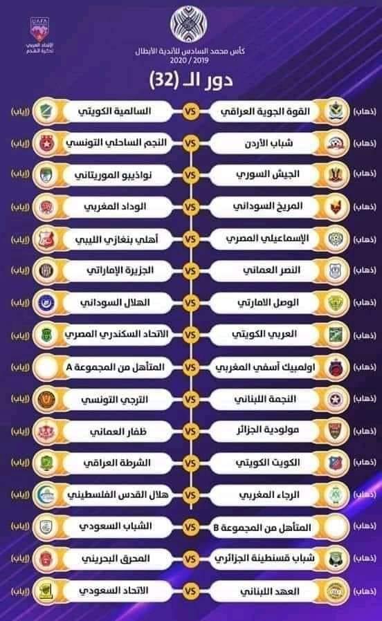 نواذيبوا يواجه الجيش السوري في البطولة العربية للأندية