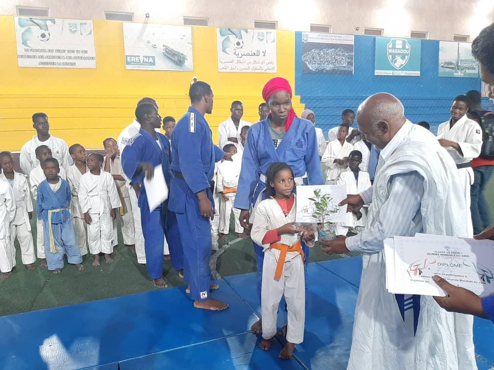 الإتحاد الموريتاني يخلد اليوم العالمي للجودو