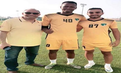 ولد الكوري يحترف في الدوري الإماراتي